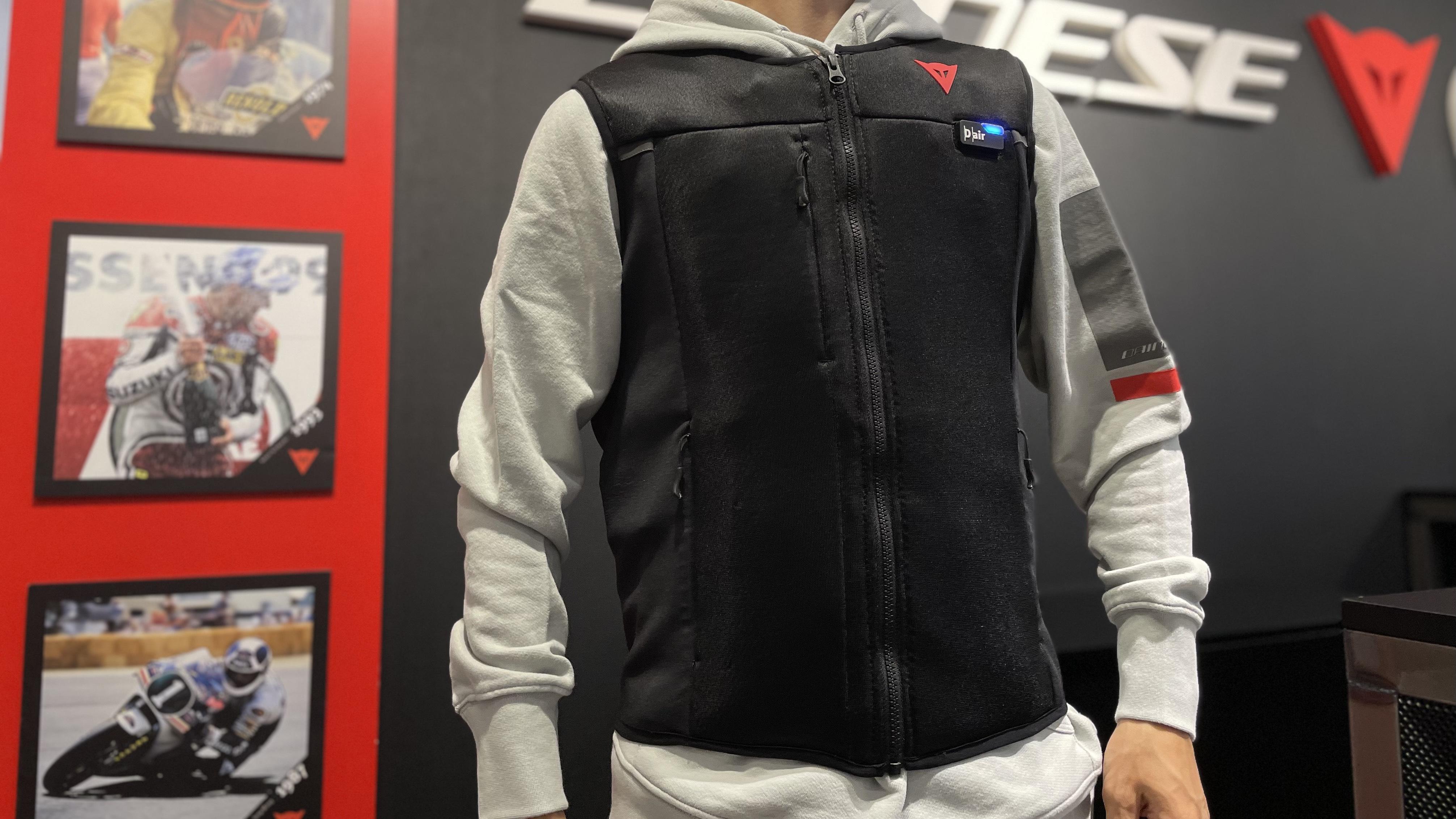"""お持ちのジャケットに最高の安全性能をプラス""""SMART JACKET""""のご紹介_vol.2"""