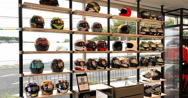 ワンランク上のAGVヘルメットのご紹介