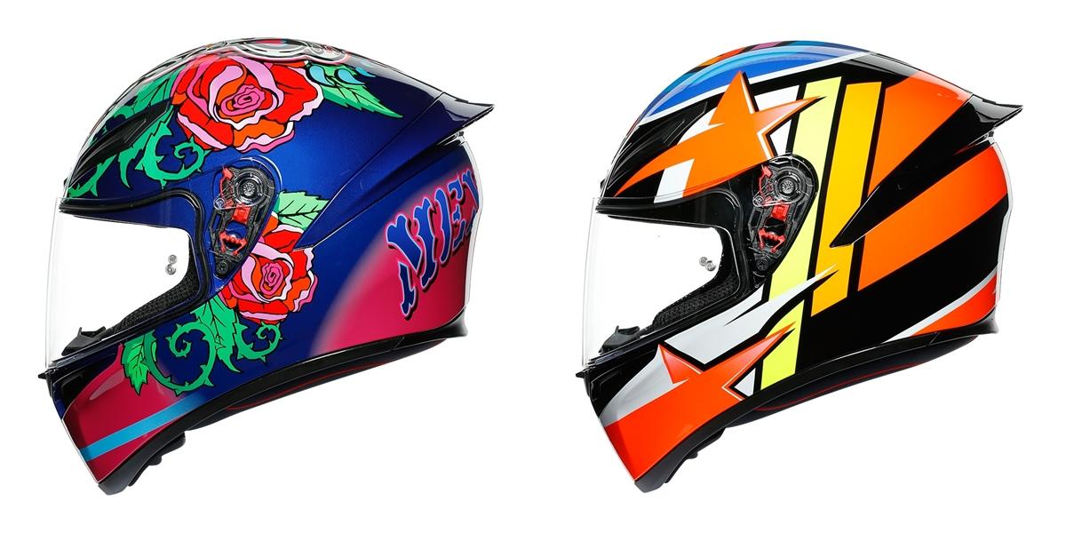 AGV K1 スポーツヘルメット 新色のご紹介