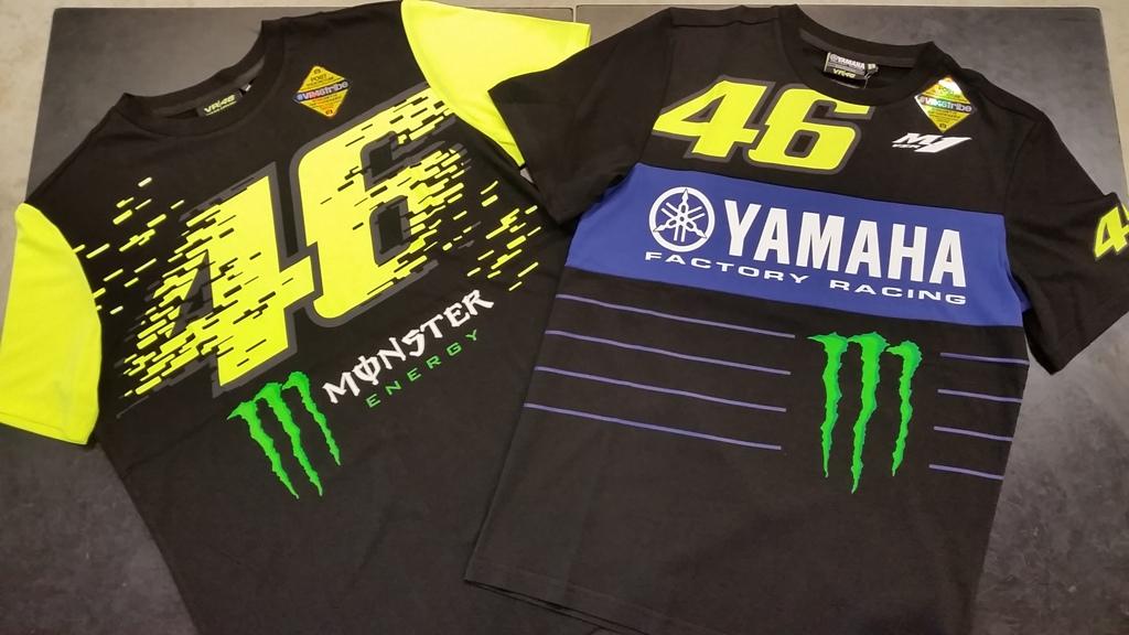 ロッシ選手ファン必見『VR46コレクション』Tシャツはサラリとした着心地が特徴です。