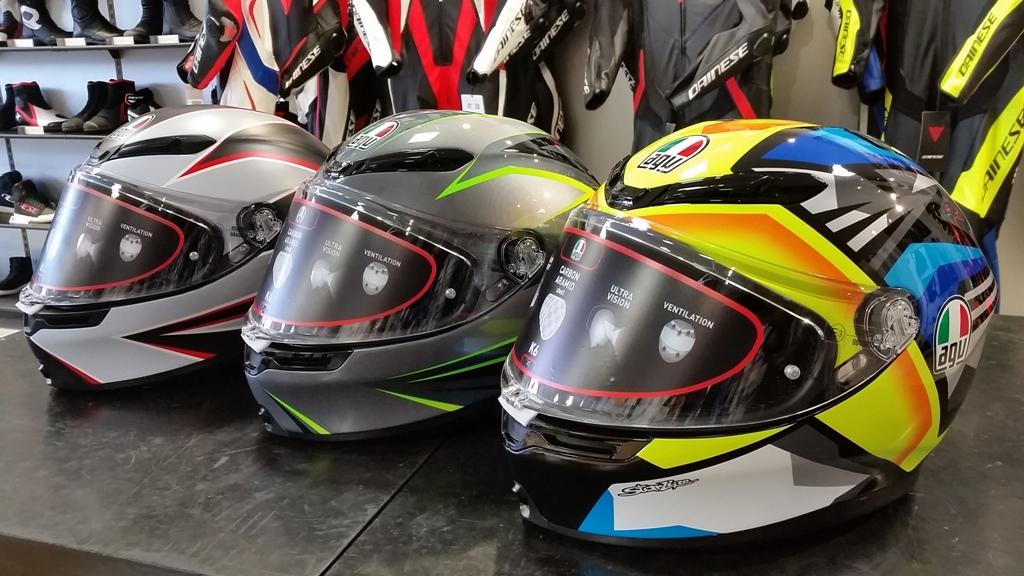 軽量設計のヘルメットK6に新作が登場!