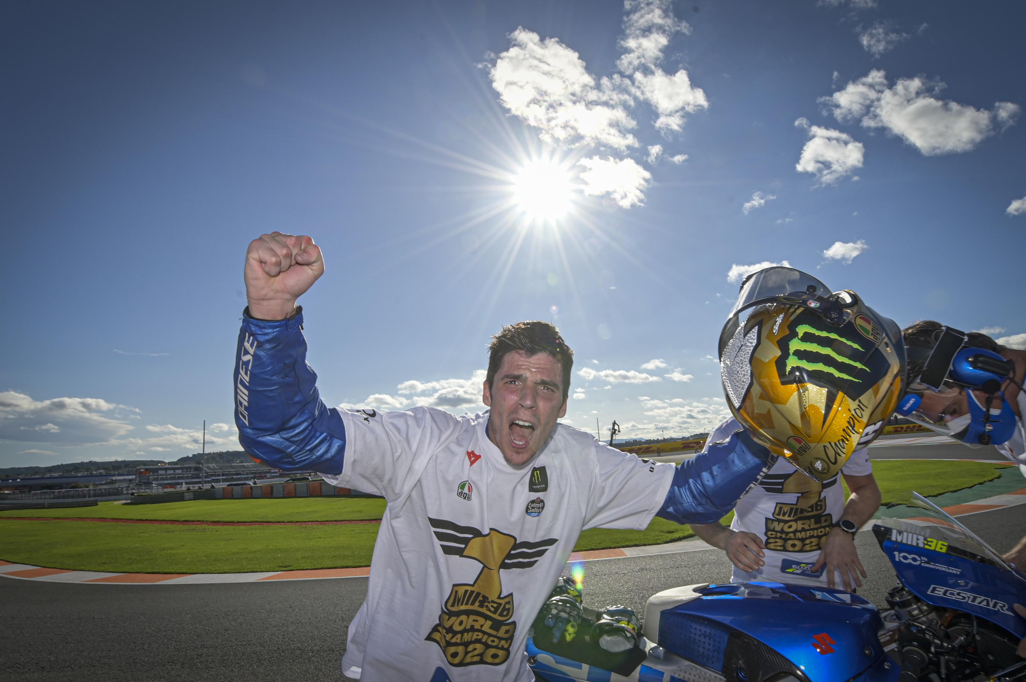 ジョアン・ミル選手のMotoGPチャンピオン記念ヘルメットが発売決定!