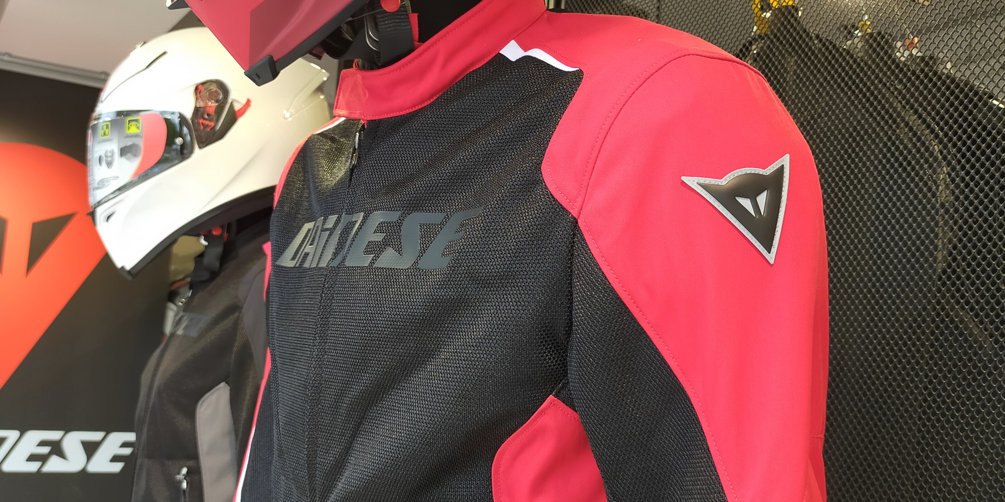 今から使えるメッシュジャケット【HYDRA FLUX D-DRY】