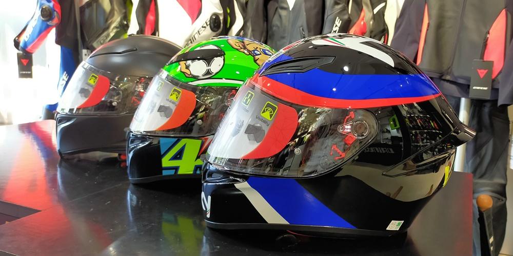 【AGVヘルメット】夏のヘルメット内部を快適に