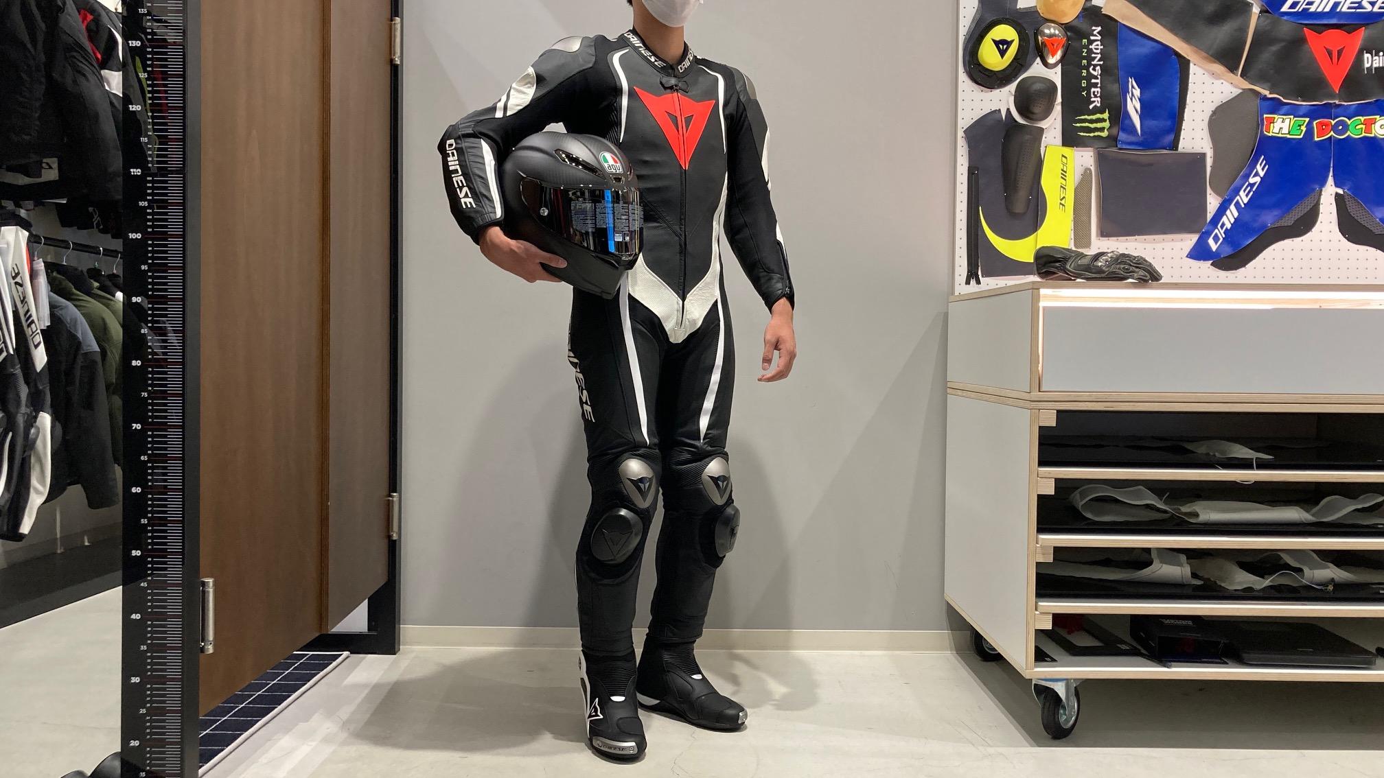 数種類あるダイネーゼレーシングスーツをそれぞれご紹介いたします