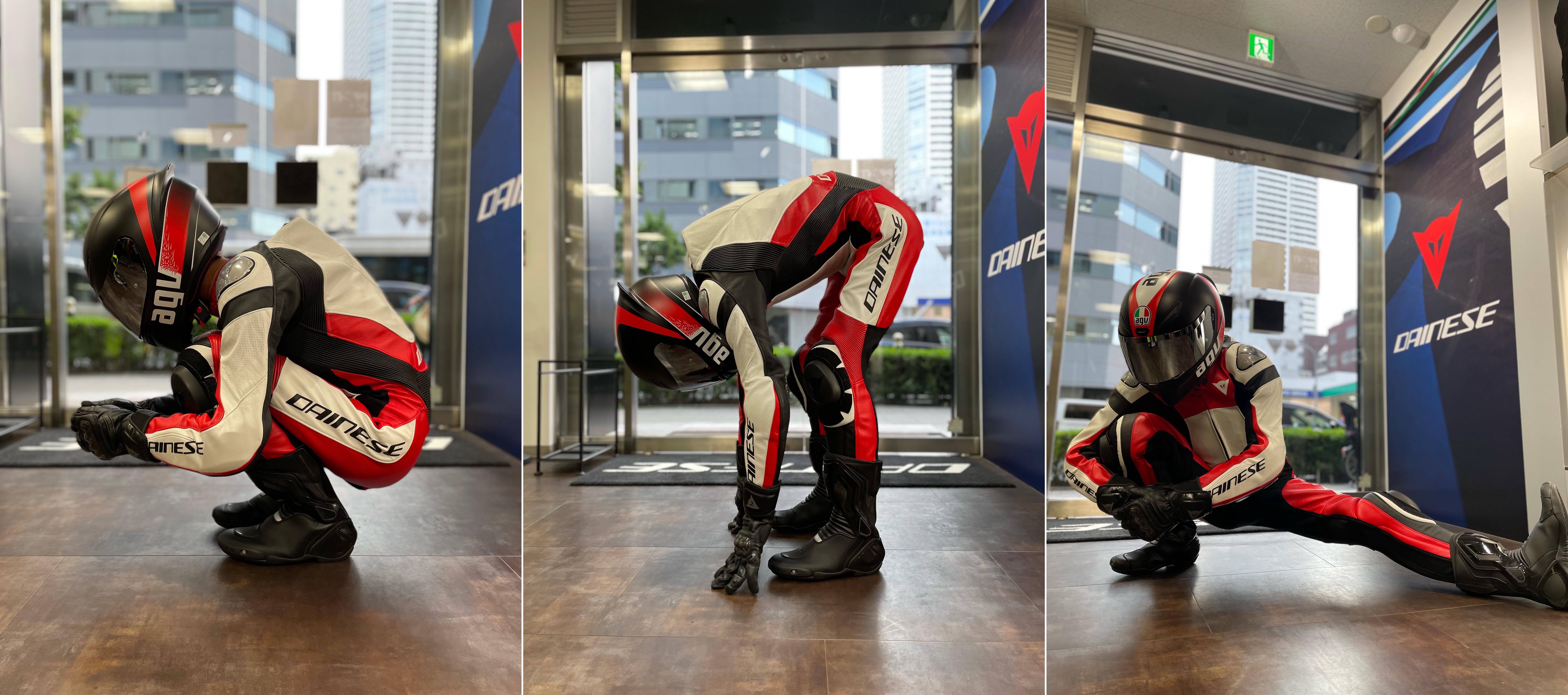 これからサーキットを走りたいライダー向けのレザースーツ【ASSEN 2 1PC. PERF. LEATHER SUIT】