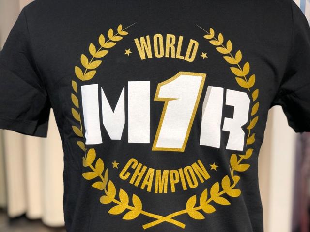 ジョアン・ミル選手 チャンピオン獲得記念T-シャツのご紹介
