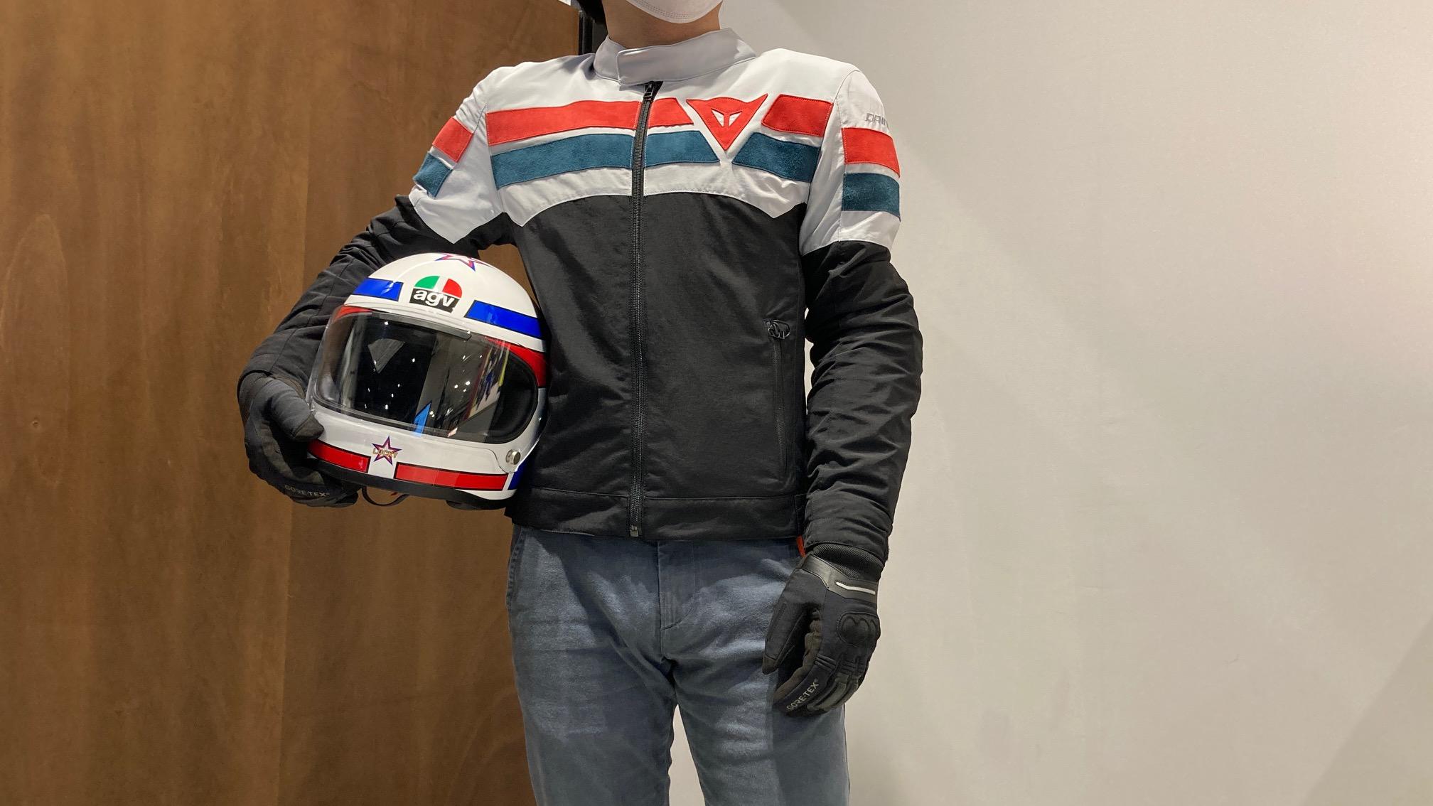 クラシックバイクやネイキッドバイクにオススメな秋冬TEXジャケット