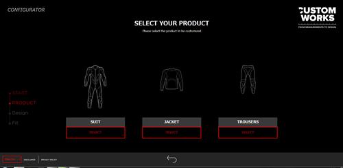 Custom Worksで自分だけのスーツデザインを