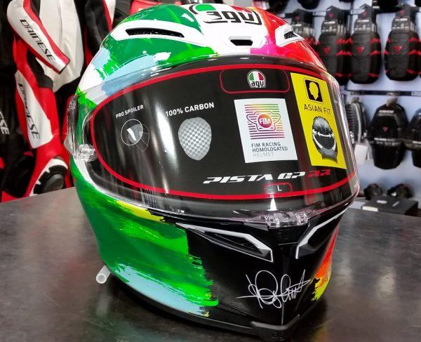 スペシャルなAGVヘルメットが入荷しました『PISTA GP RR 〇〇』
