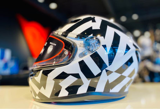 AGV K6 SECRET BLACK/WHITEのご紹介