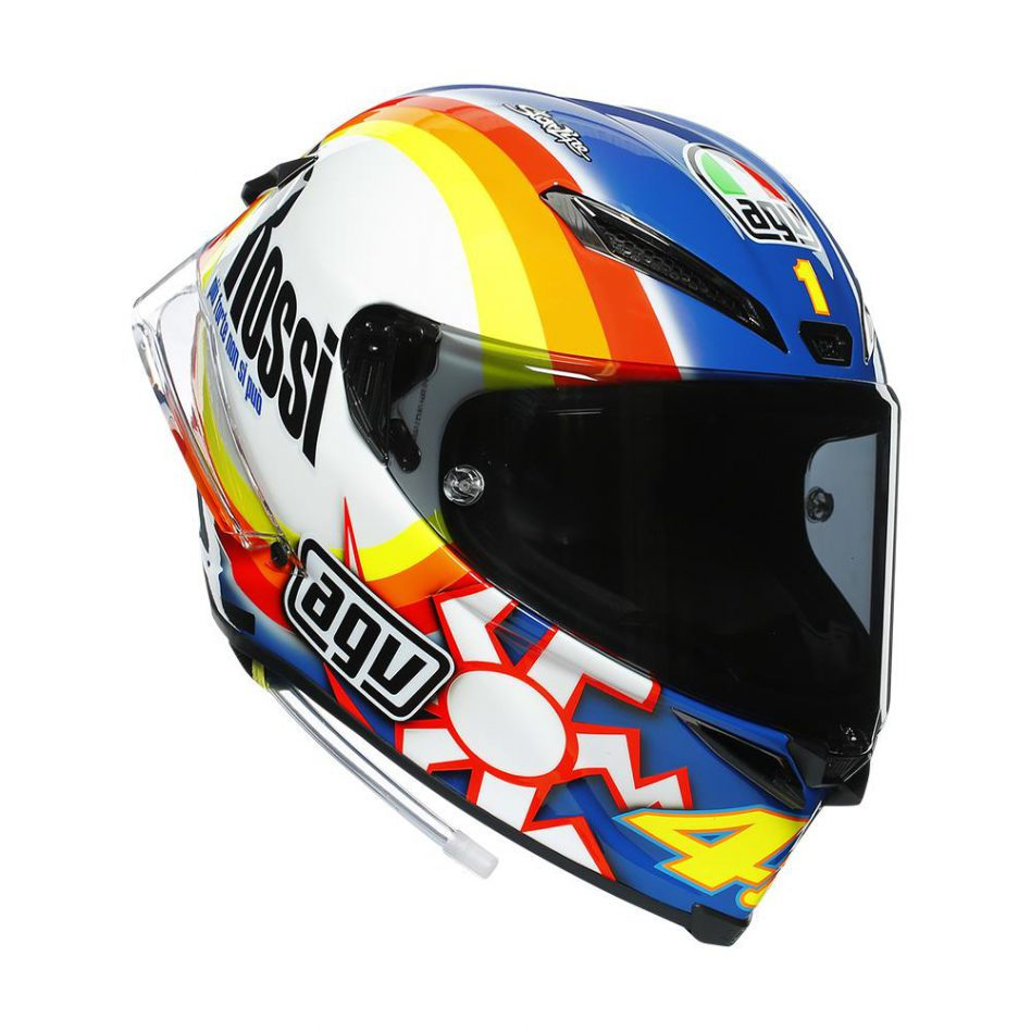 AGV ロッシレプリカヘルメット『Winter Test 2005』ご予約受付開始