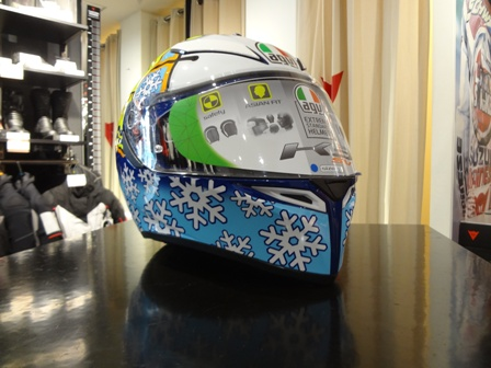 AGV K-3 SV ROSSI WINTER TEST 2016のご紹介