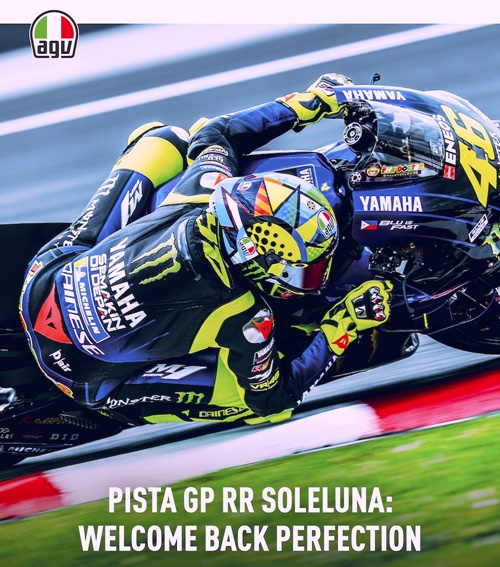 【数量限定】PISTA GP RR / ROSSI WINTER TEST 2020