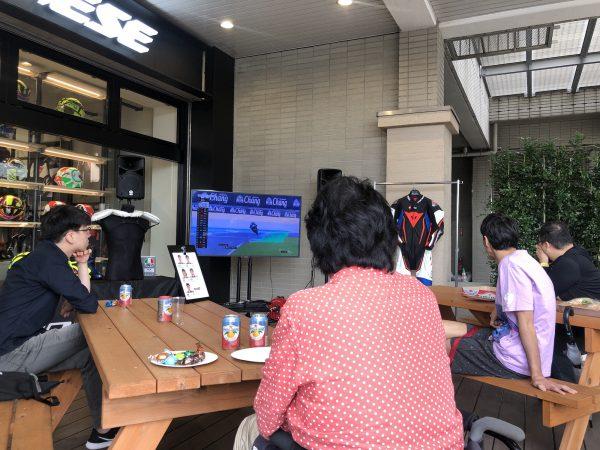 MotoGP第16戦日本GPパブリックビューイングinダイネーゼ台場