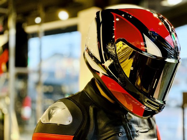 K6 AGV JIST - HYPHEN BLACK/RED/WHITE カラーのご紹介