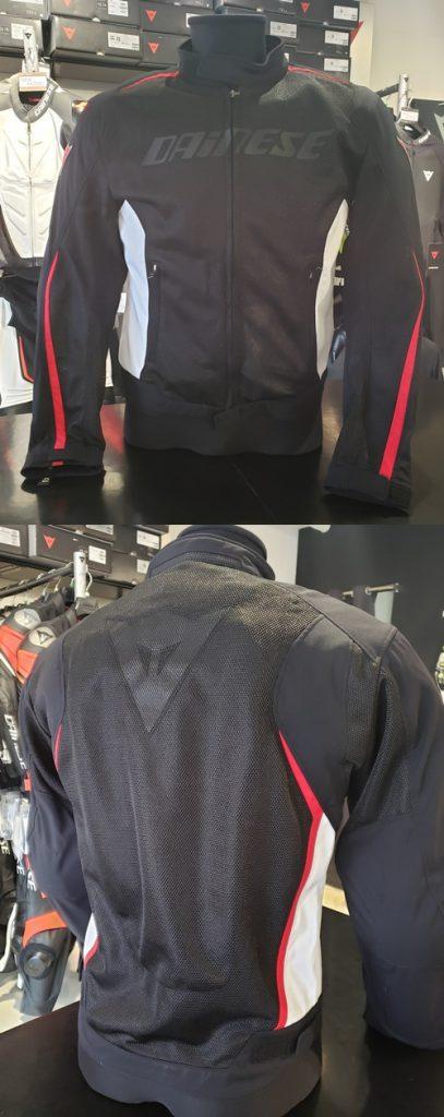 汎用性の高いメッシュジャケットで快適なツーリングを