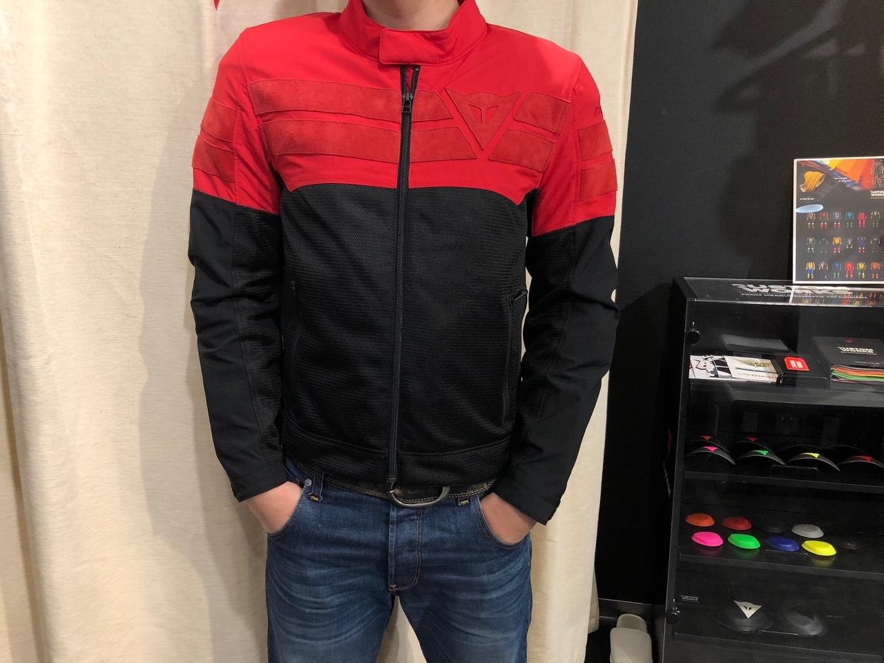 高級感溢れるメッシュジャケット【AIR-TRACK】