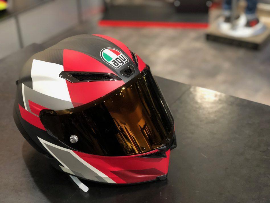 AGV新作レーシングヘルメット【PISTA GP RR】