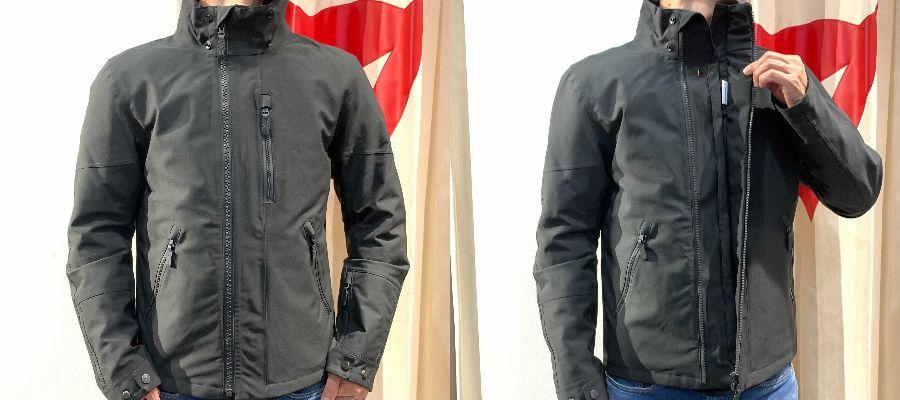 シンプルデザインが好評なジャケット