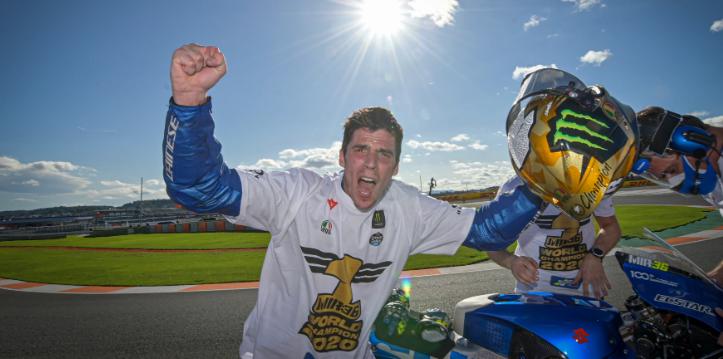 MotoGP年間チャンピオン、ジョアン・ミル選手のレプリカモデルがPISTA GP RRで登場
