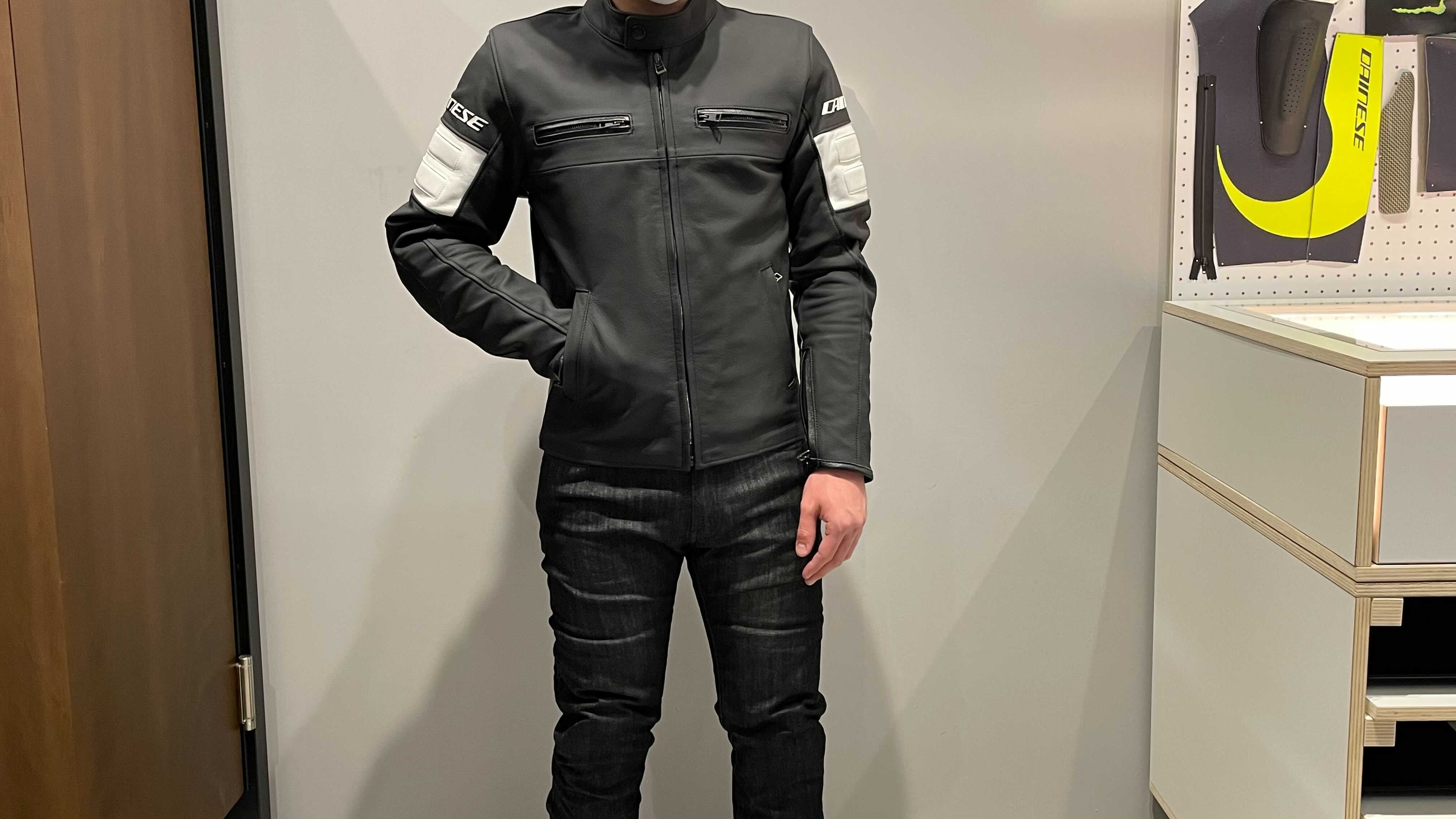 普段使いにも最適なアーバンスタイルジャケット【SAN DIEGO LEATHER JACKET】